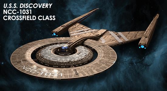 Eaglemoss [fascicules et vaisseaux de collection] SD0_Discovery