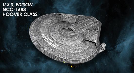 Eaglemoss [fascicules et vaisseaux de collection] SD0_Edison