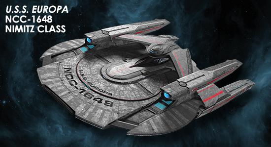 Eaglemoss [fascicules et vaisseaux de collection] SD0_Europa
