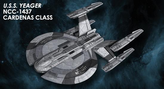 Eaglemoss [fascicules et vaisseaux de collection] SD0_Yeager