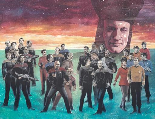 Star Trek : The Q Conflict [TOS-TNG-DS9-VOY;2019] StarTrek_QConflict_01_CoverRI-B_Woodward_col-640x491