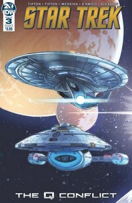 Star Trek : The Q Conflict [TOS-TNG-DS9-VOY;2019] Idw-qconflict-3-1-416x640