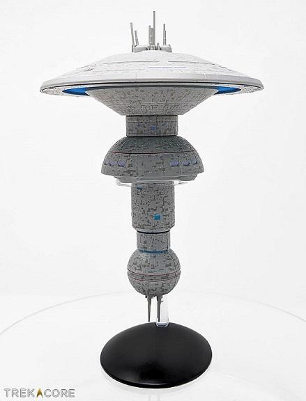 Eaglemoss [fascicules et vaisseaux de collection] Spacedock-profile