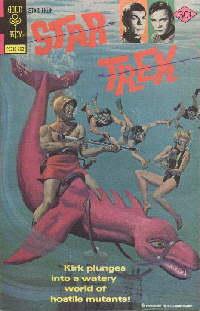 Le monde sous les vagues [Gold Key #43;1977] St43