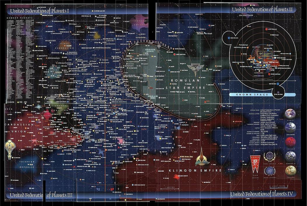 Star Trek, qu'est-ce que c'est ? Startrekcarto