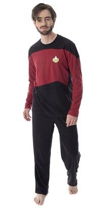 Star Trek Shop [divers] Intimo_Star_Trek_The_Next_Generation_uniform_command_pajama_set